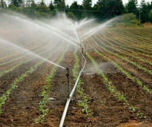 sistema de riego inteligente en la agricultura